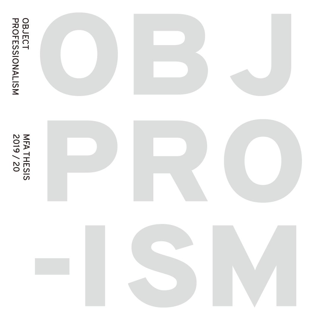 Object Professionalism